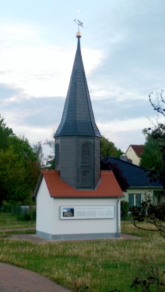 Dachreiter Taborkirche jetzt in Regis